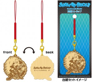 SHOW BY ROCK!! 木製ストラップ アイオーン_L